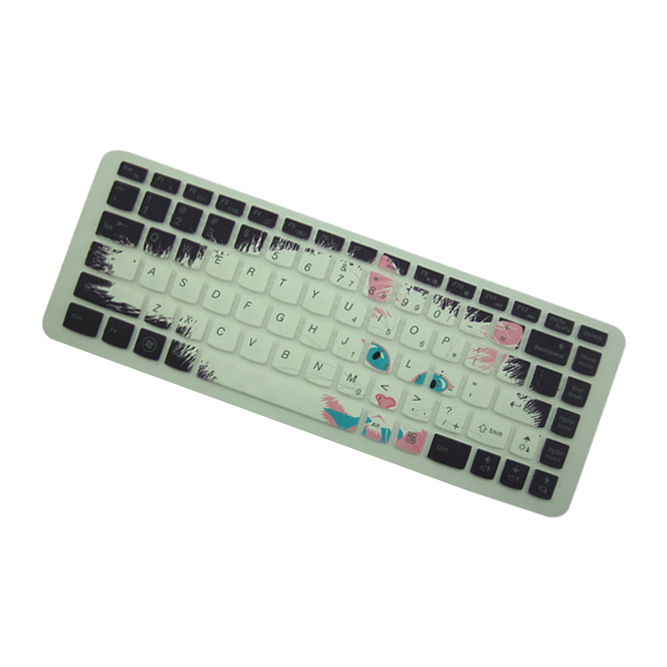 g480)笔记本电脑可爱猫咪印字膜