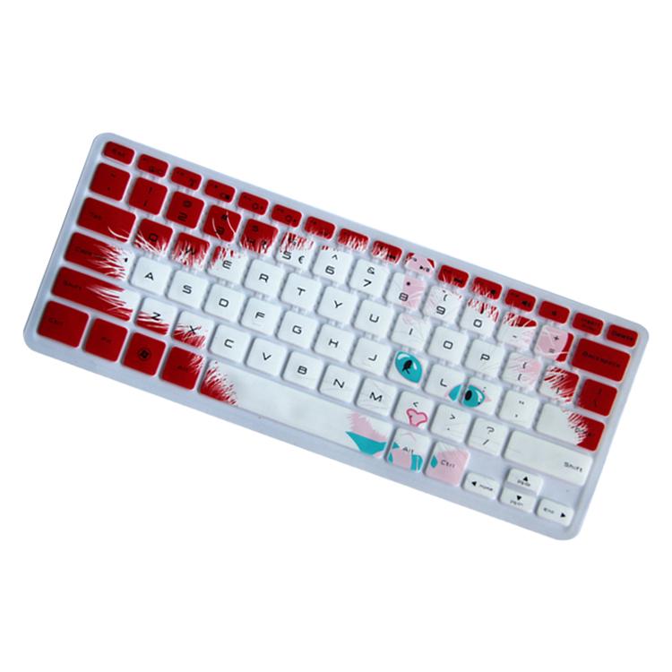 时尚it戴尔018(xps 13z)笔记本电脑可爱猫咪印字键盘保护膜(裸)不含